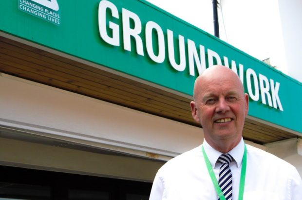 Hugh Shields, Programme Manager from Groundwork